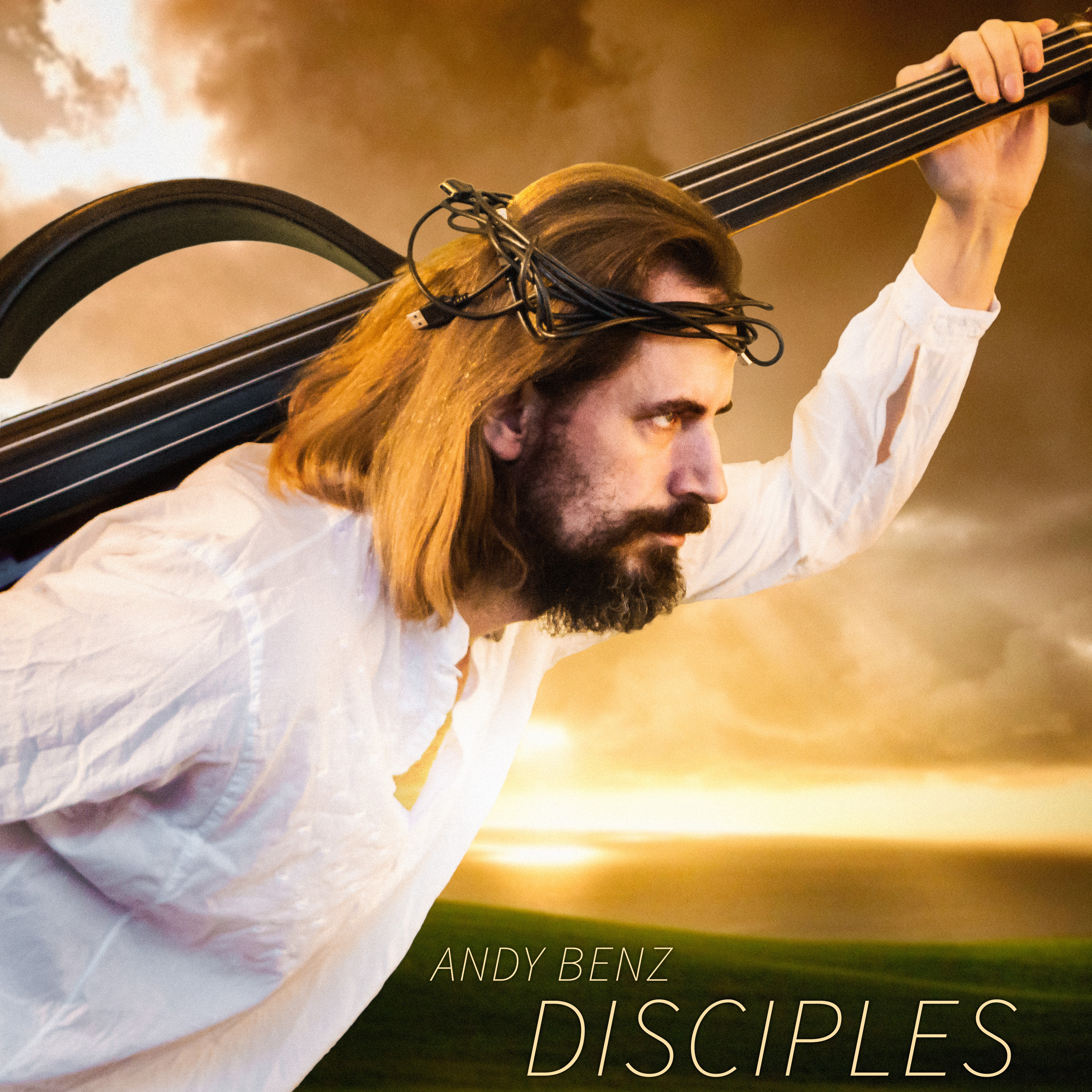 Cover photo from the album Andy Benz, Disciples. Contains music written and performed by Andreas Bennetzen. Click for link