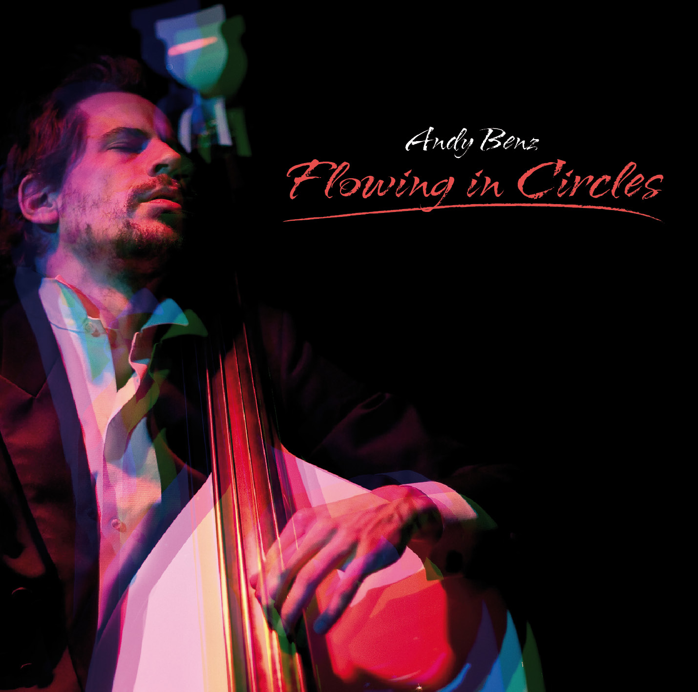 Cover photo from the album Andy Benz, Flowing in Circles. Contains music written and performed by Andreas Bennetzen. Click for link